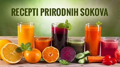 Recepti prirodnih sokova